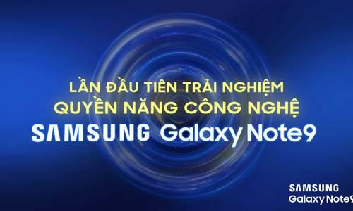 Tín đồ Galaxy Note 9 chờ 'Tiệc công nghệ' ở Hà Nội