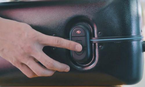Vali tích hợp cảm biến vân tay như smartphone