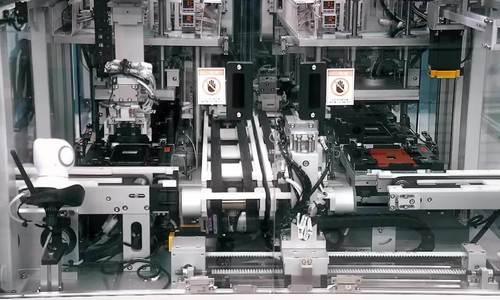 Note9 trong nhà máy lắp ráp