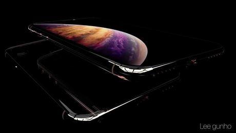 Hình dung về iPhone Xs màu vàng mới