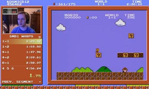 Kỷ lục thế giới về màn chơi Mario nhanh nhất lại bị phá