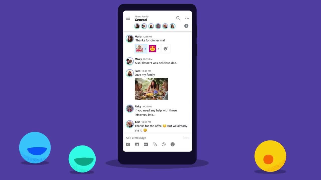 Yahoo ra ứng dụng chat cạnh tranh Facebook Messenger