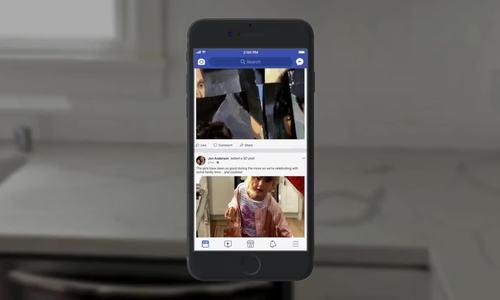Cách xem ảnh 3D trên Facebook