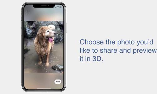 Facebook hỗ trợ ảnh 3D