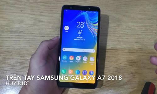 Trên tay Samsung Galaxy A7