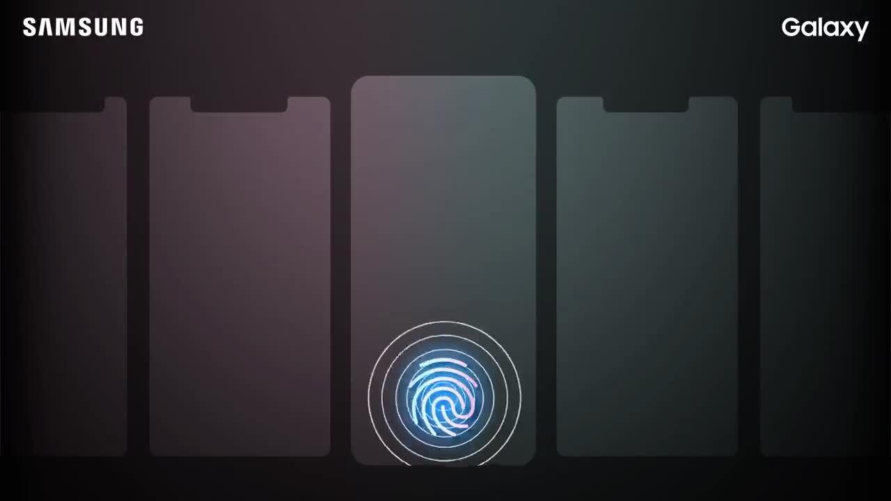 Samsung xác nhận Galaxy S10 sẽ có cảm biến vân tay siêu âm
