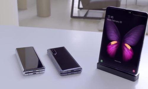 Video cận cảnh Samsung Galaxy Fold