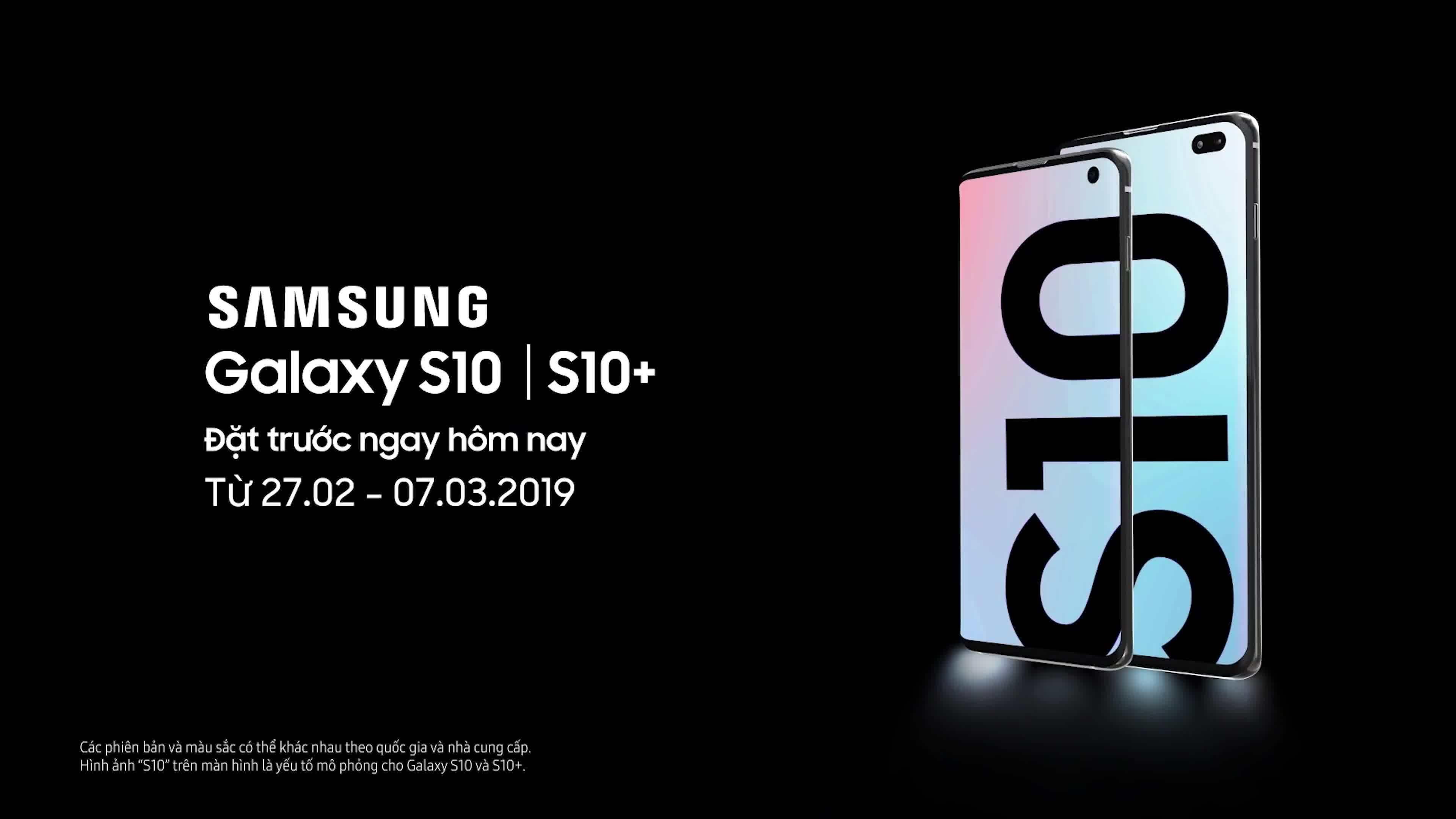 Hoàng Hà Mobile nhận đặt trước Samsung Galaxy S10/S10+