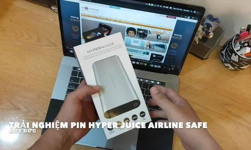 Airline Safe pin sạc công suất lớn nhất thế giới