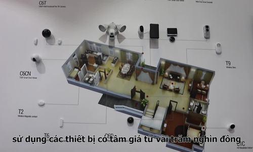 Hệ thống nhà thông minh giá từ 8 triệu đồng của EZVIZ