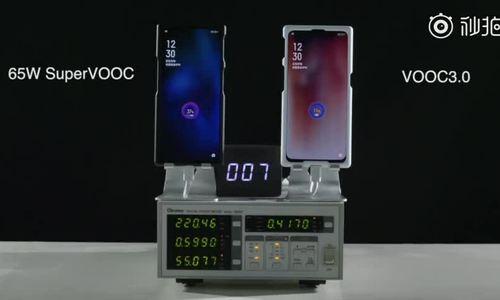 Smartphone Oppo sạc đầy pin trong 30 phút