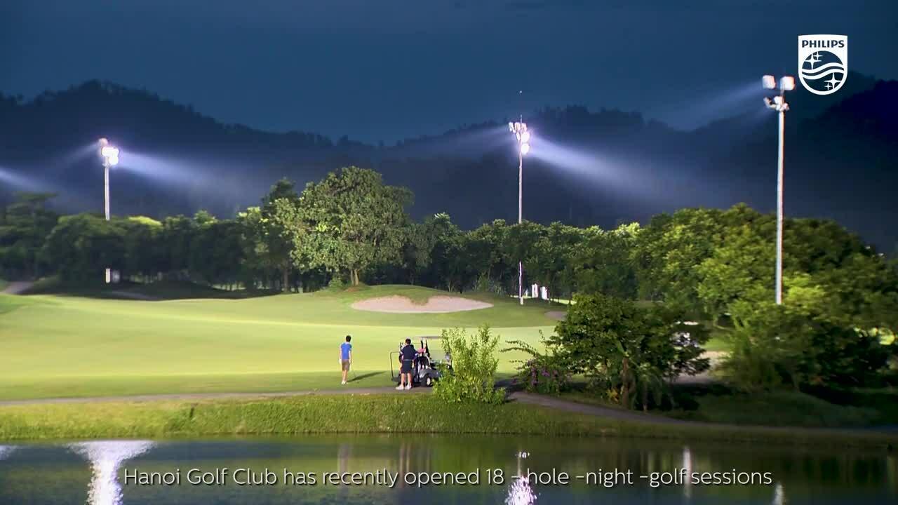 Sân chơi thể thao trong xu hướng chiếu sáng IoT