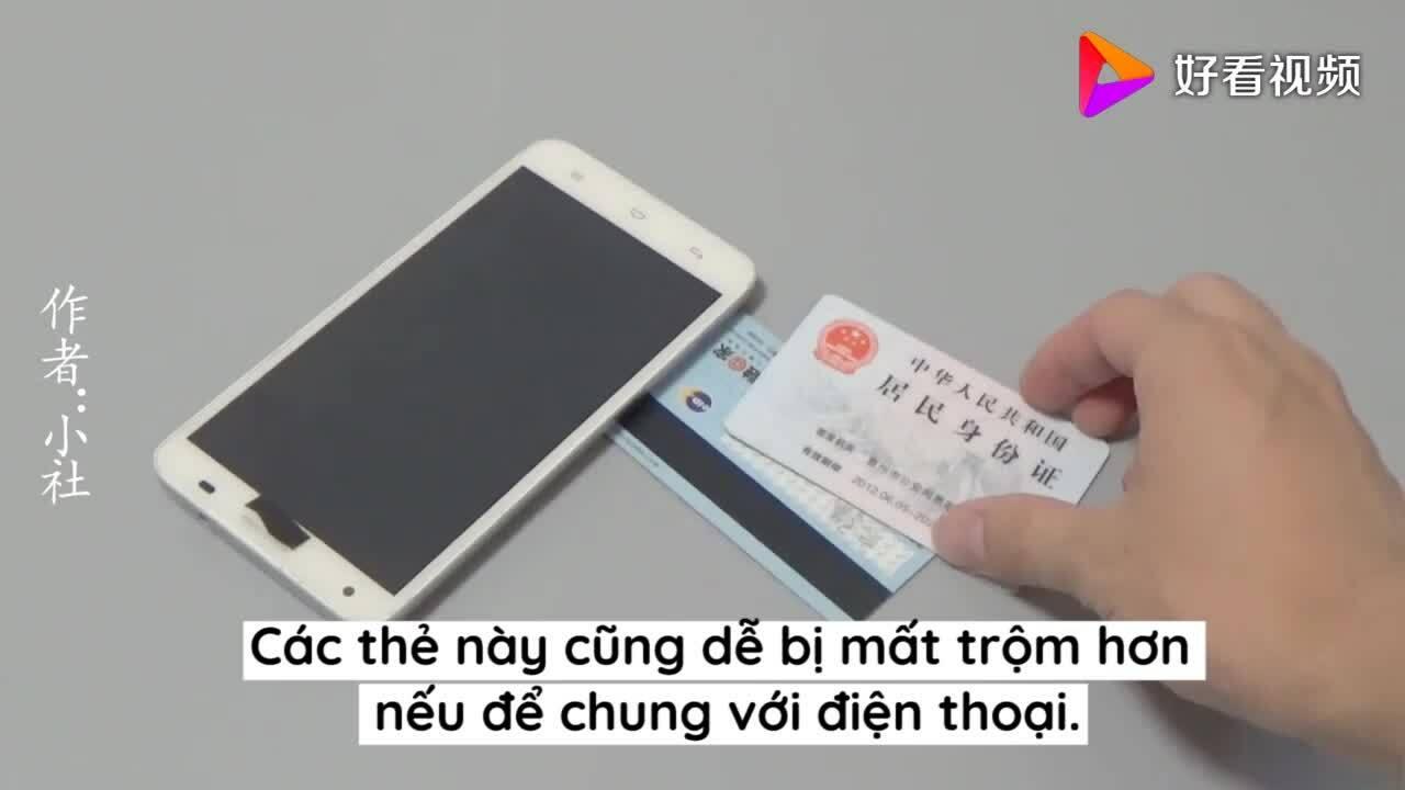 3 món đồ không nên để chung với smartphone