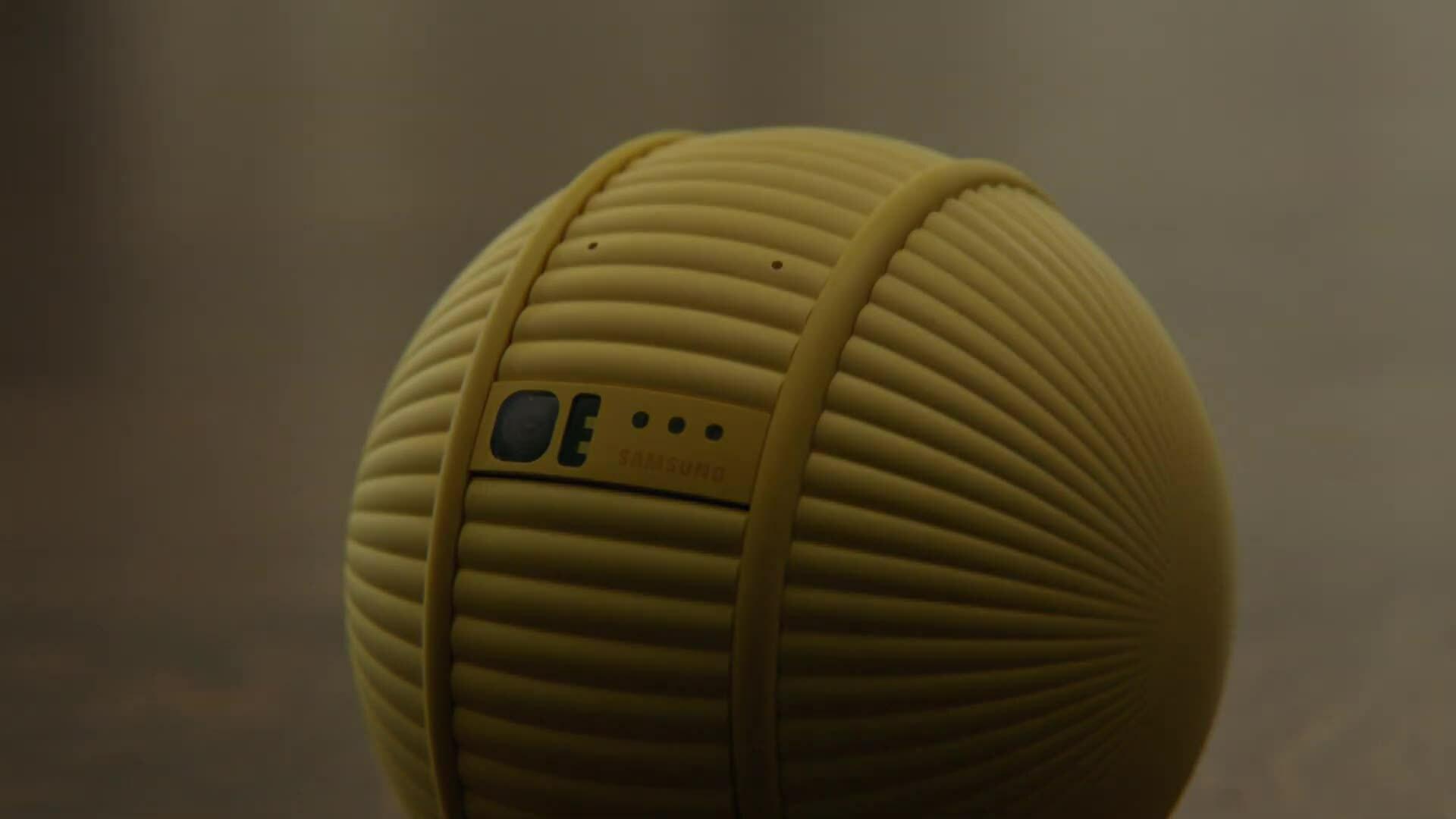 Ballie – trợ lý của Samsung trong ngôi nhà thông minh