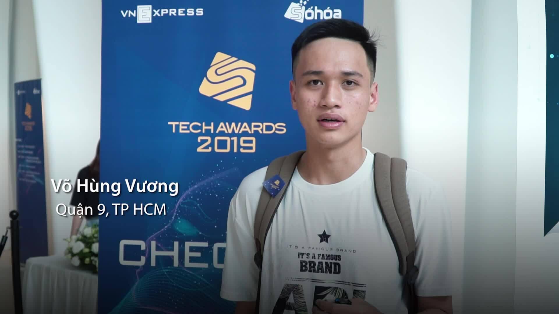 Khách tham quan: 'Tech Awards 2019 hoành tráng'