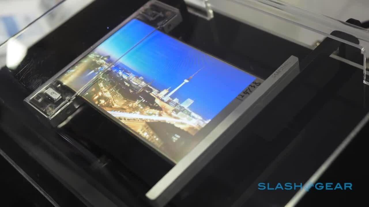 Samsung phát triển smartphone kéo dãn màn hình