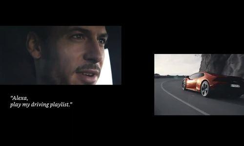 Trợ lý ảo Alexa trên siêu xe Lamborghini