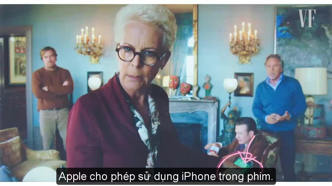 Nhân vật phản diện không được dùng iPhone