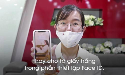 Mẹo mở iPhone khi đeo khẩu trang