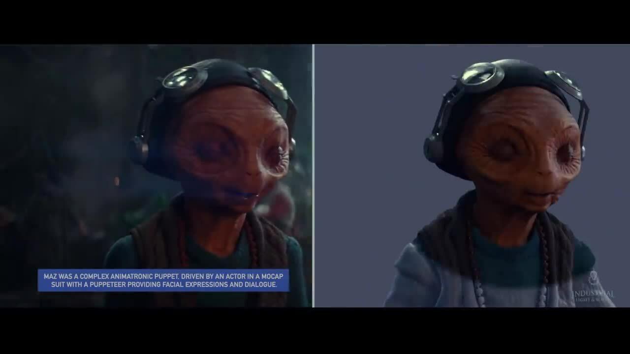Hiệu ứng trong phim Star Wars: The Rise of Skywalker