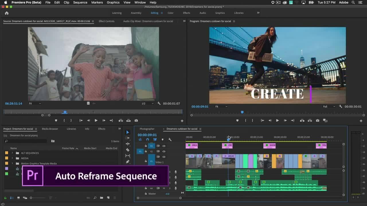 Sử dụng AI để căn chỉnh video