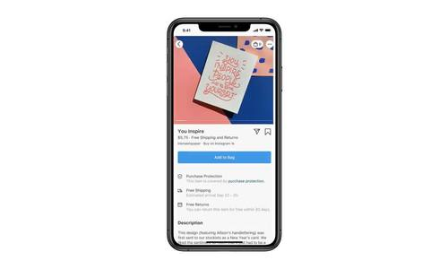 Facebook tung tính năng mua hàng trực tiếp