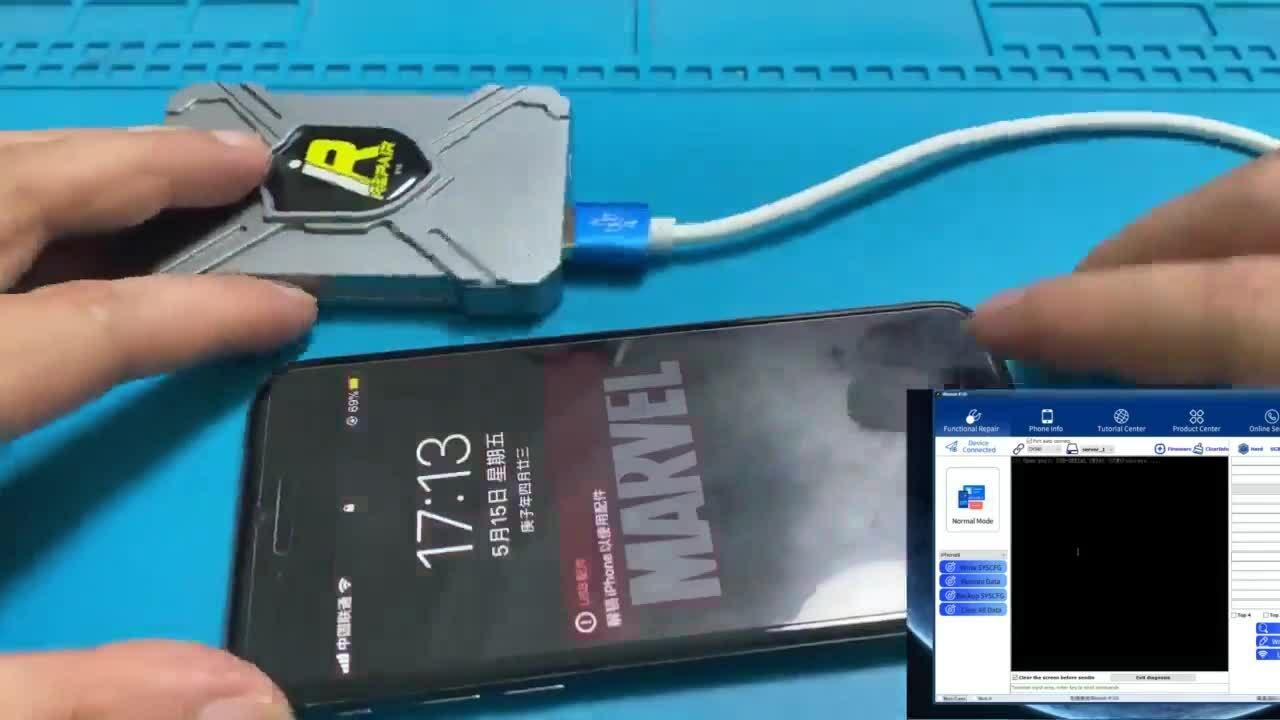 Thao tác đổi mã iPhone trong tích tắc