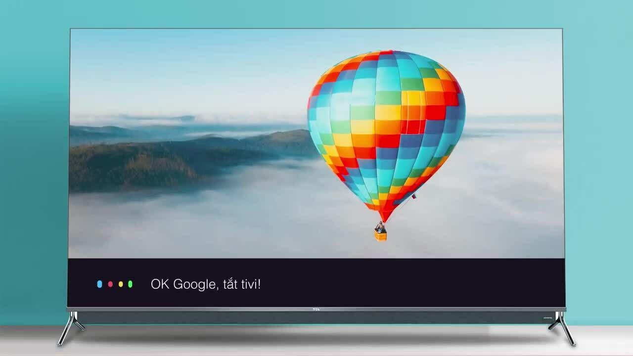 TCL nâng cấp trải nghiệm dòng Smart TV QLED
