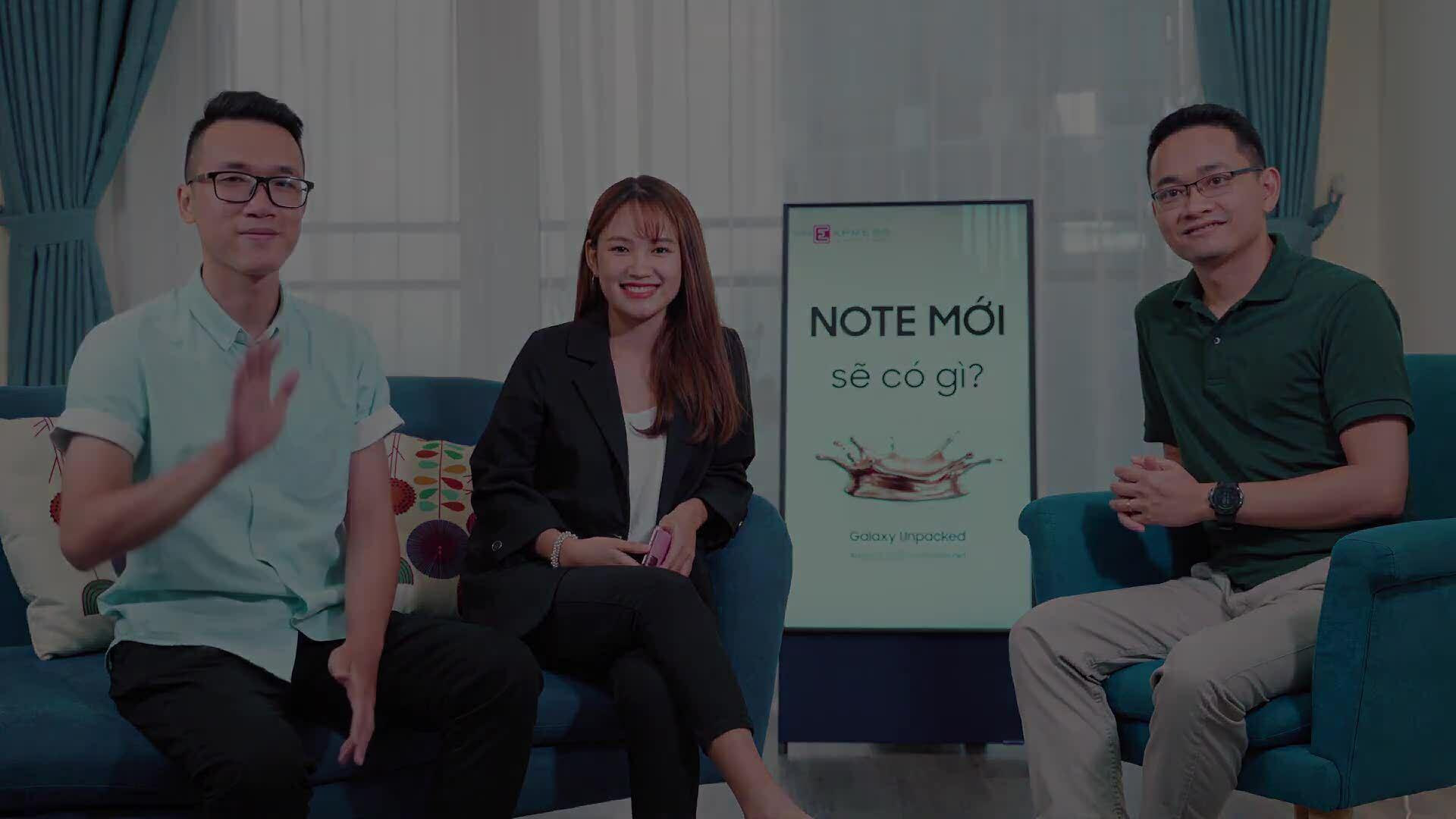 Chuyên gia công nghệ dự đoán Galaxy Note20