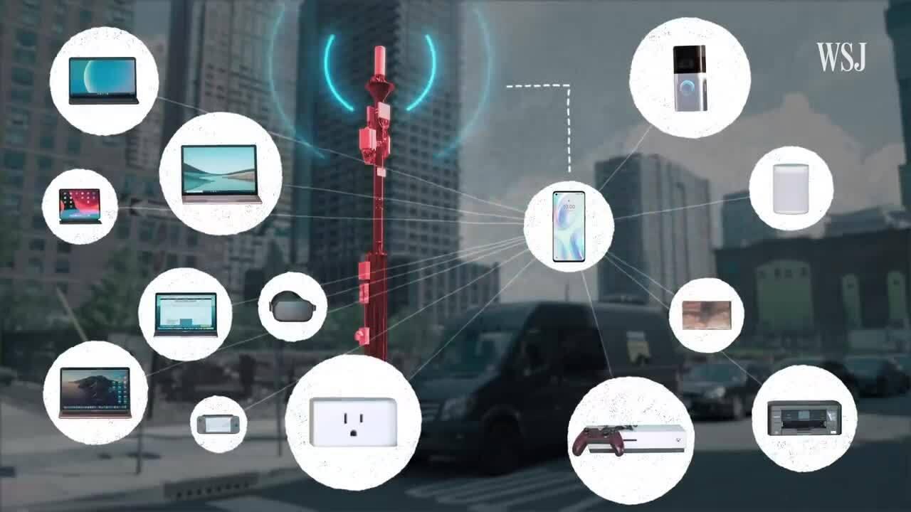 Tương lai 5G có thể thay thế mạng Wi-Fi gia đình