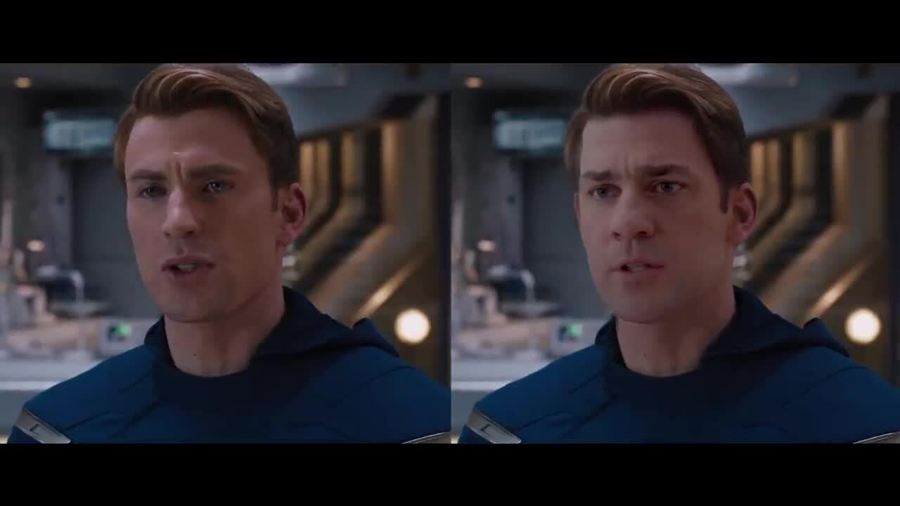 Deepfake hoán đổi khuôn mặt các siêu anh hùng