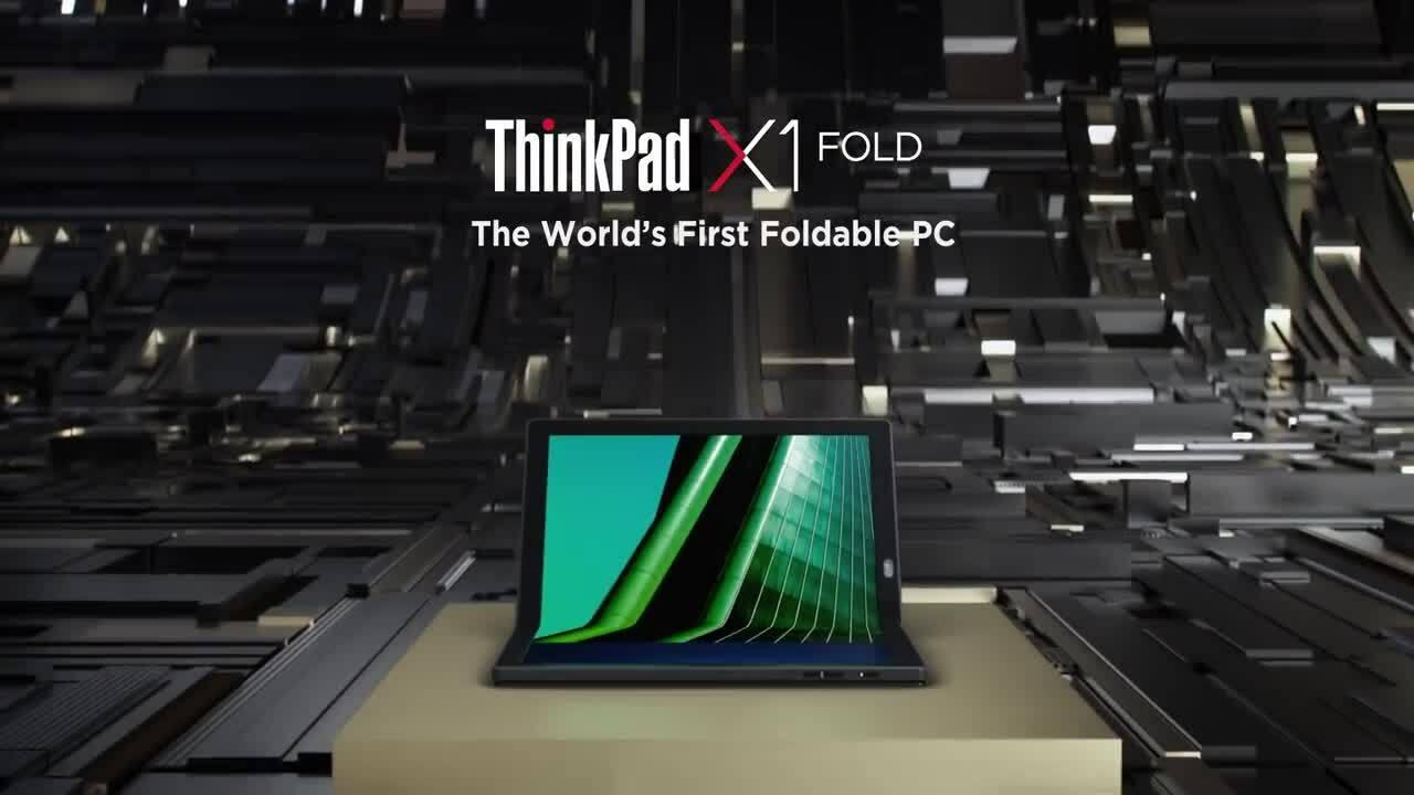 Lenovo trình làng laptop màn hình gập đầu tiên thế giới