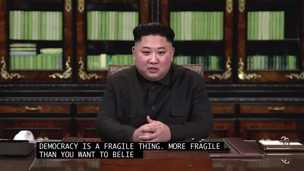Deepfake về Kim Jong Un