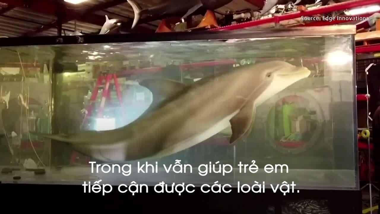 Cá heo robot đầu tiên trên thế giới