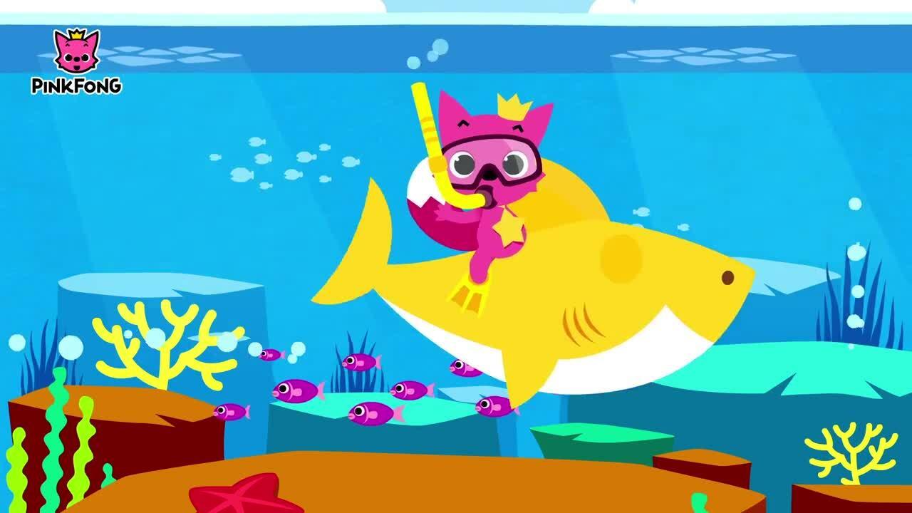 'Baby Shark' là video YouTube được xem nhiều nhất mọi thời đại