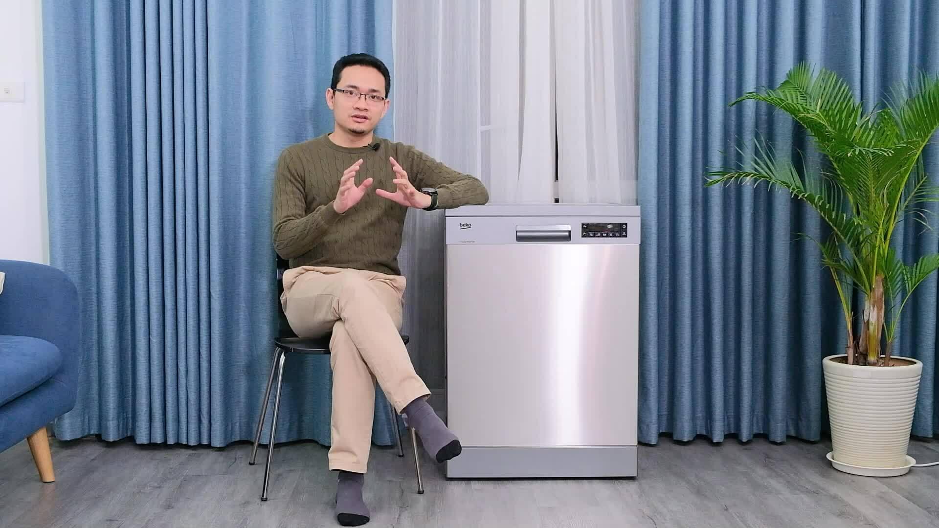 Đánh giá máy rửa bát có tay phun phụ của Beko