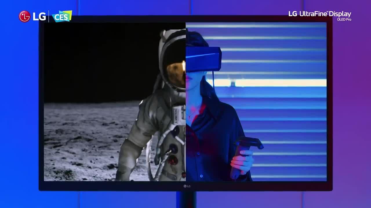 LG ra màn hình OLED 4K 31,5 inch đầu tiên thế giới