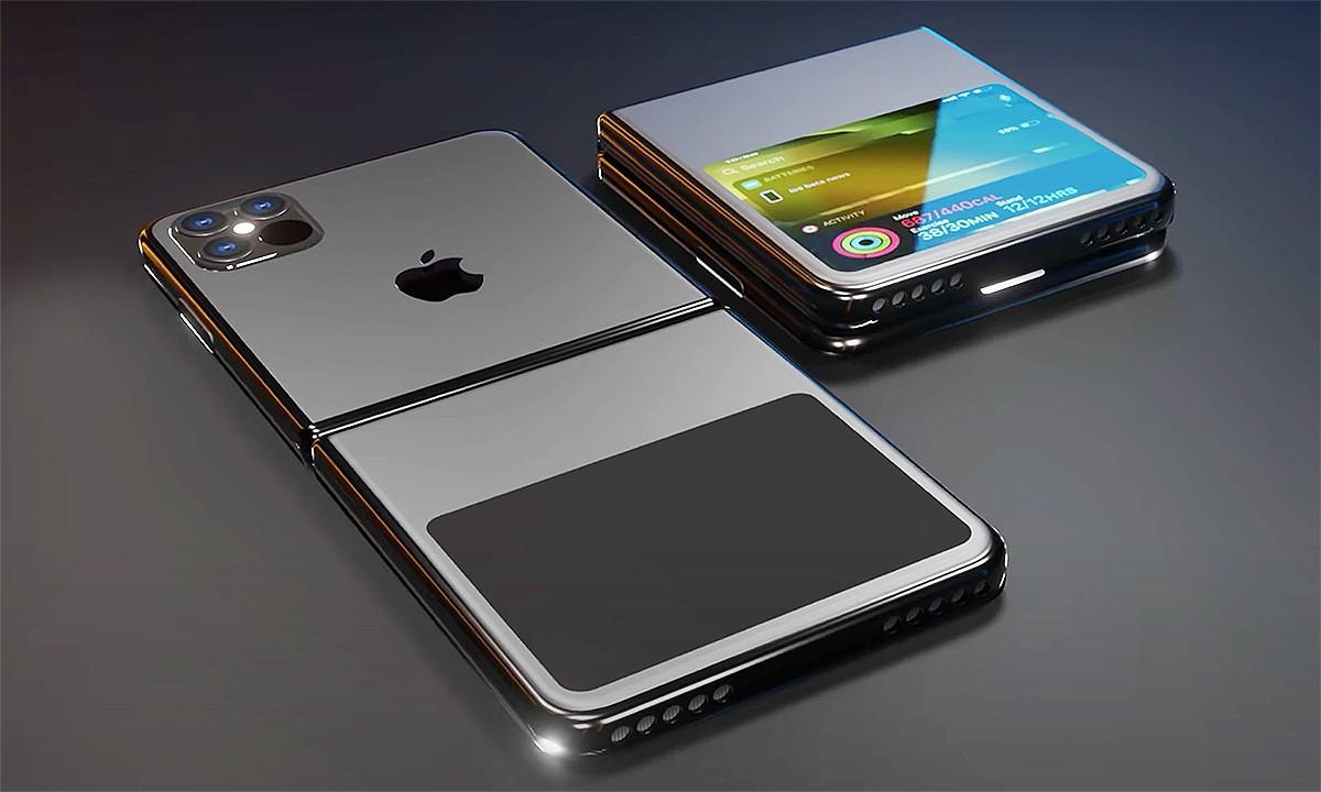iPhone Flip màn hình gập