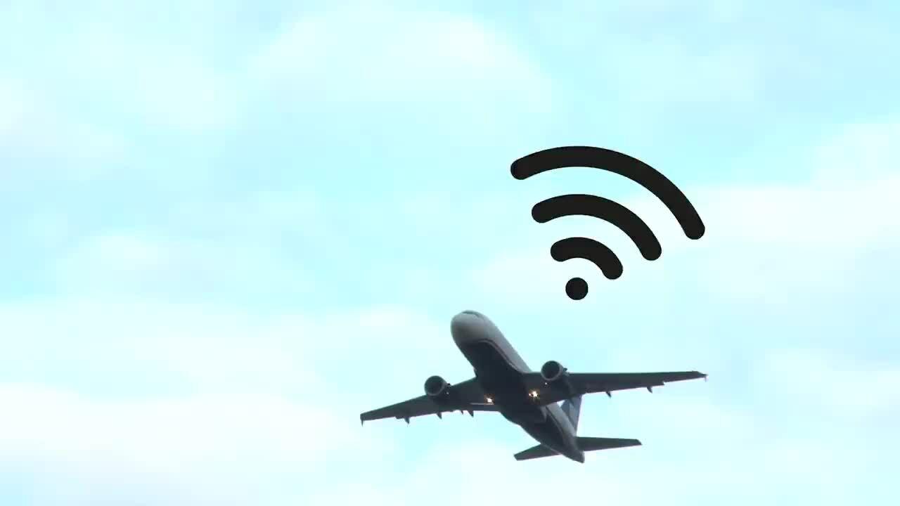 Tại sao Wi-Fi trên máy bay chậm và đắt