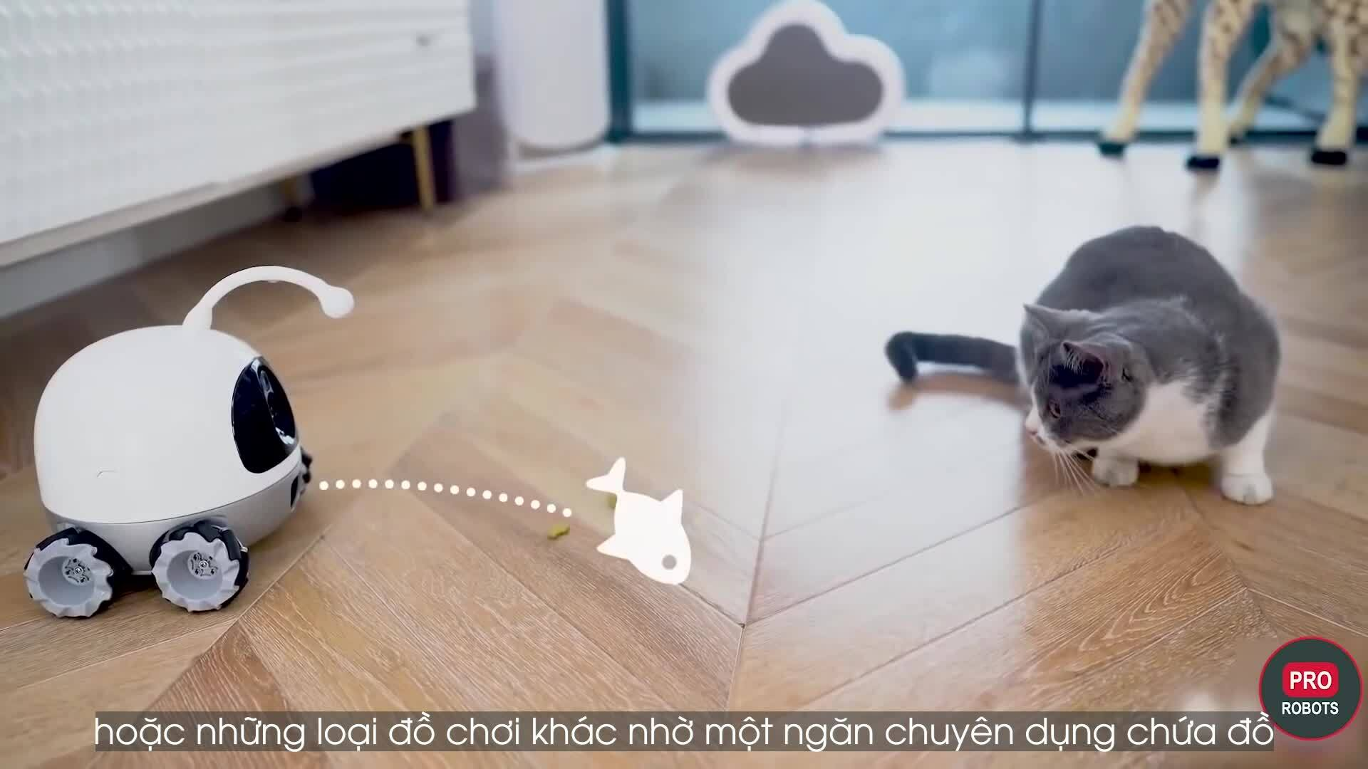 Robot thông minh sử dụng trí tuệ nhân tạo