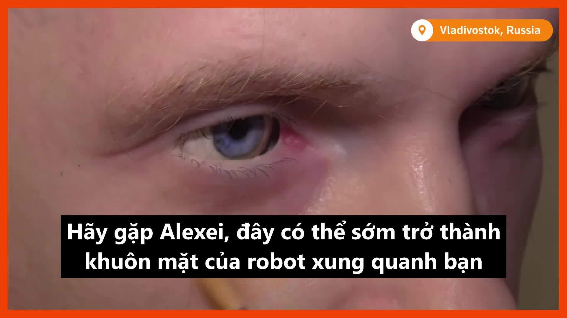 Quá trình chế tạo robot giống hệt người