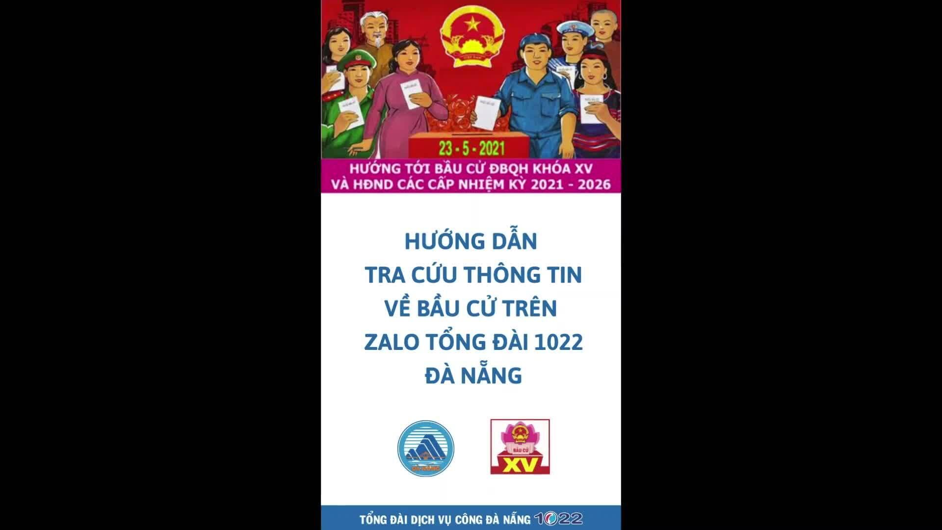 Đà Nẵng dùng chatbot hỗ trợ bầu cử