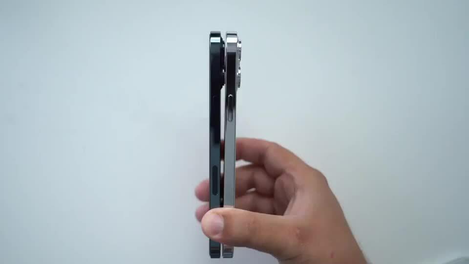 Đọ thiết kế loạt iPhone 13 với iPhone 12