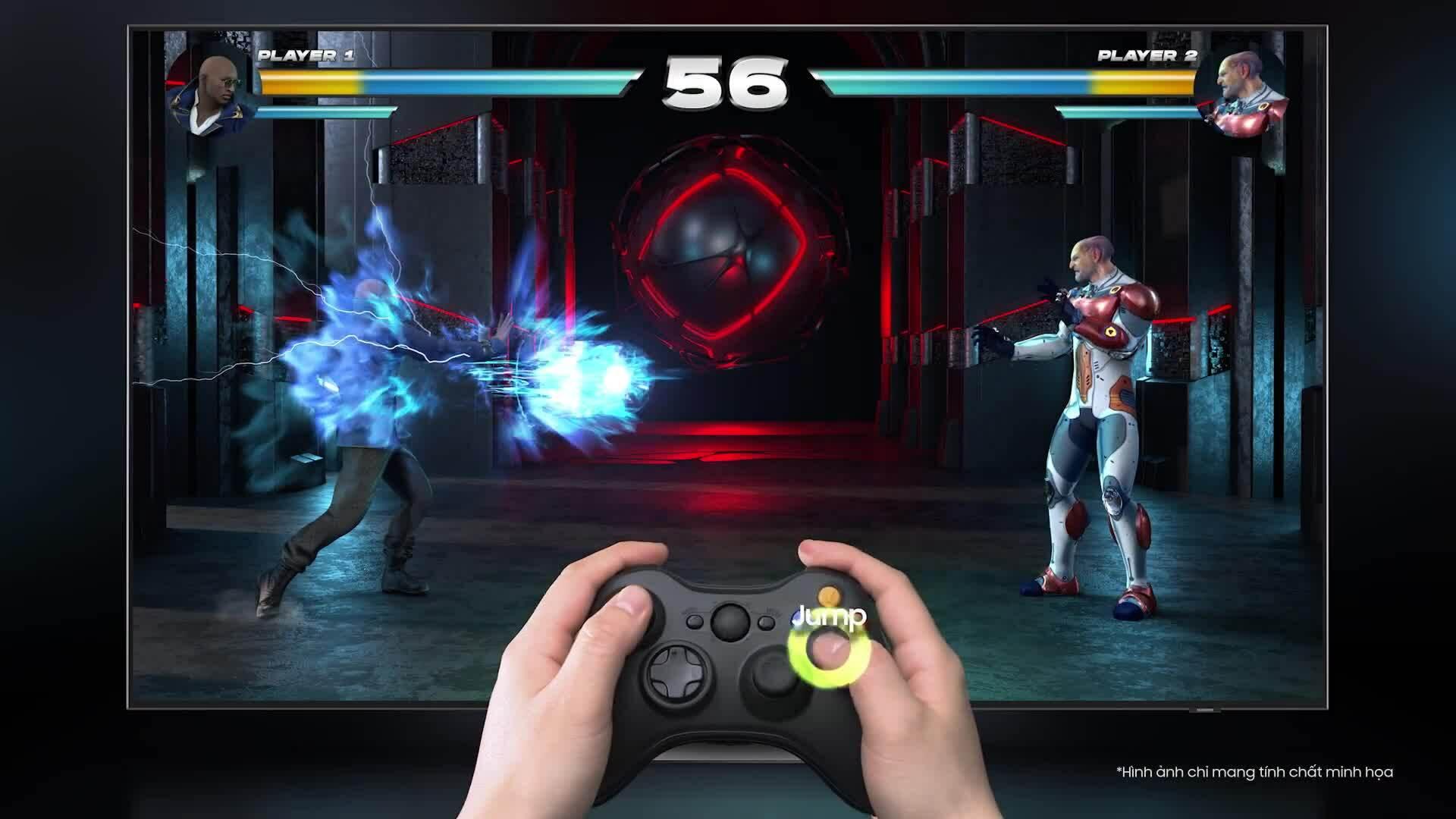TV Neo QLED tăng trải nghiệm chơi game tại gia