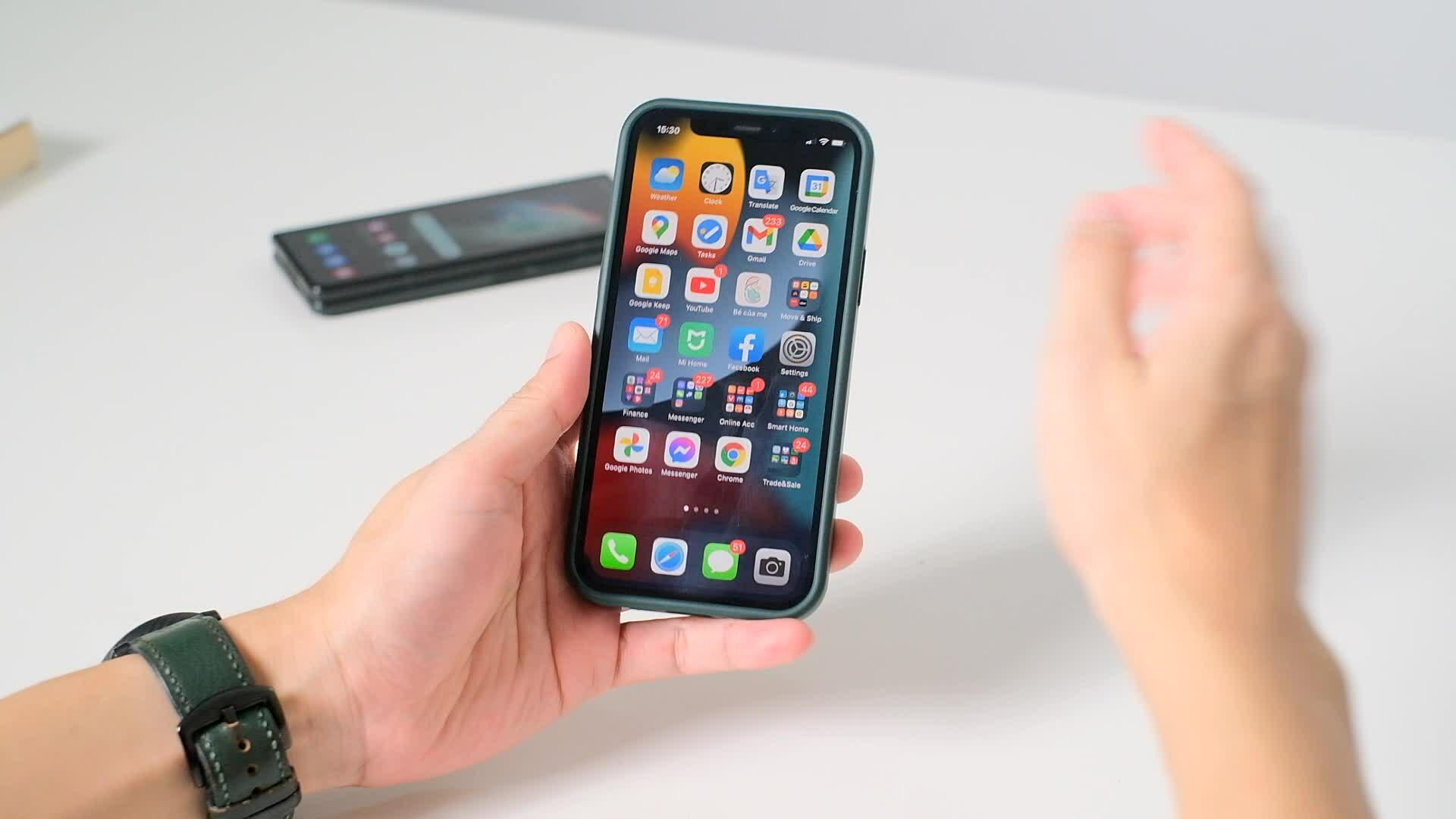 Trải nghiệm thay đổi trên iOS 15