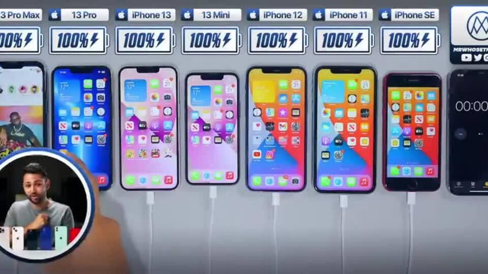 iPhone 13 Pro Max lập kỷ lục thời gian sử dụng