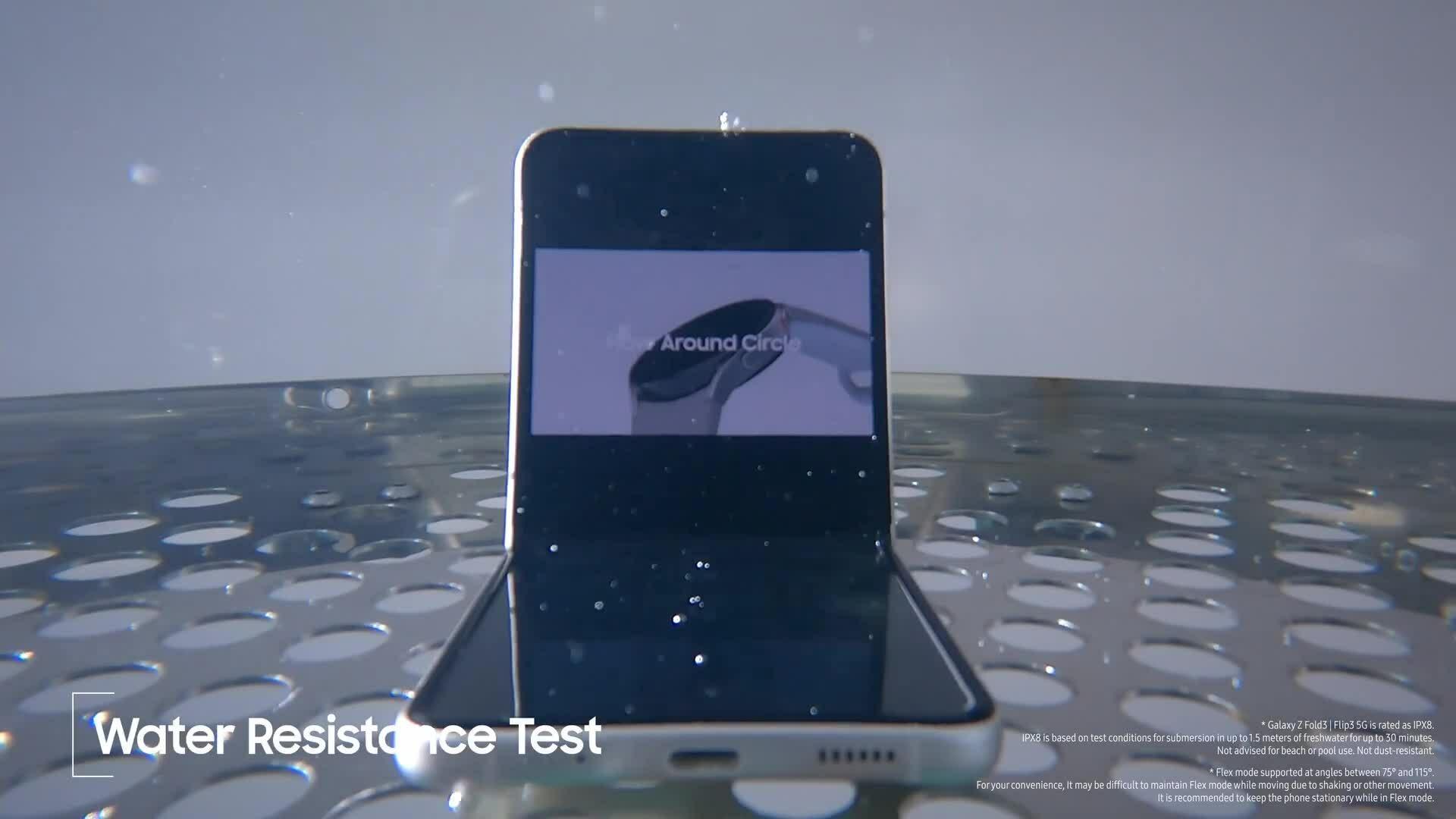 Video thử độ bền trong nhà máy của Z Fold3 và Z Flip3