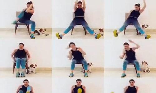 Bài tập ngồi tại chỗ giúp giảm cân và săn chắc cơ thể