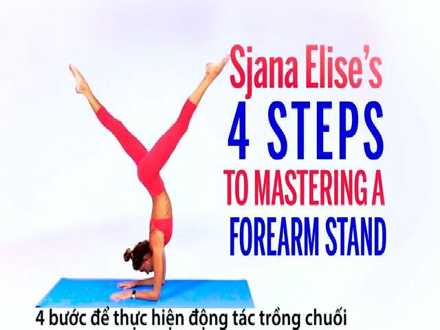 4 bước thực hiện động tác trồng cây chuối