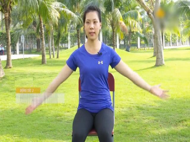 Bài tập giảm đau mỏi cổ vai lưng